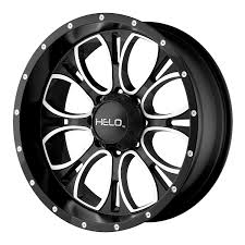 Amazon helo he878 wheel with satin black finish 17x9 6x5 5 helo wheels automotive