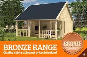 Log Cabins   Bronze