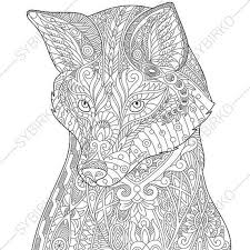 Small Picture Colloring Animals Pictures Coloring Page Fox Animals Coloring