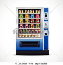 Vending Machine Clip Art Inspiration Realistic Snacks Vending Machine Realistic Snacks Vending Machine