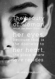 Quotes On Eyes Beauty Best of Beauty Is In Her Eyes The Doorway To Her Soul Quotes