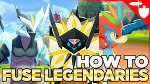How to Fuse Legendaries in Pokemon Sword and Shield - YouTube