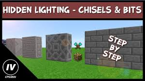 Feed The Beast Light Sources Hidden Light With Chisels Bits
