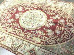 qvc area rugs royal palace area rugs 6 x 9 rust beige french oriental rug wool hand royal palace area rugs qvc large area rugs