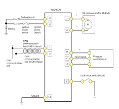 hyundai tucson wd ecu schematic diagrams wd control system 4wd ecu circuit diagram