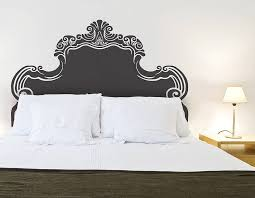 Small Picture Vintage Bed Headboard Wall Sticker Contemporary Wall Stickers