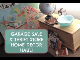 Small Picture Garage Sale Thrift Store Haul Home Decor Toys and Books