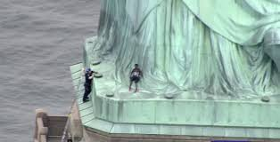 Statue Quotes Stunning Statue Of Liberty Climber Quotes Michelle Obama Pleads Not Guilty