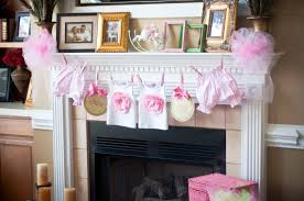 baby shower decorating ideas- clothes line & wishing tree