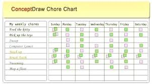 Weekly Household Chore List House Chores List Doctric Info