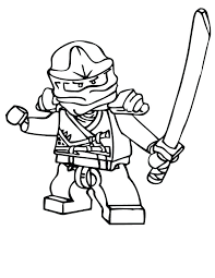Lego Ninjago Coloring Pictures Colouring Pages Jay Jay Coloring