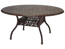darlee outdoor living series 60 cast aluminum 59 round dining table