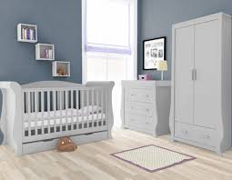 grey furniture nursery. BabyStyle Hollie Nursery Furniture Set - Grey M