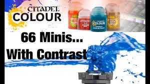Citadel Color Conversion Chart 66 Miniatures Painted Using Only Citadel Contrast Paints