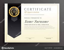Vector Diplomas Elegantes Diseño De Plantillas De