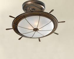 image of nautical ceiling fan
