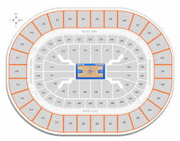 Oklahoma City Thunder Arena Seating Chart Oklahoma City Thunder Chesapeake Energy Arena Seating Chart
