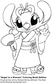 Girl Stitch Coloring Pages Free Coloring Pages For Teens Coloring