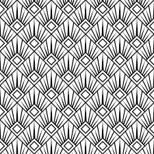 art deco wallpaper b q 185002
