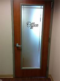 office doors with glass. Image Is Loading Office-Sign-Sticker-Vinyl-Decal-Sticker-Door-Glass- Office Doors With Glass L