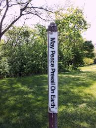 Image result for peace pole