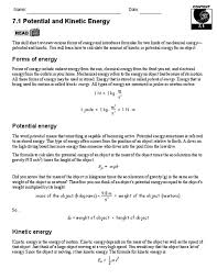 Worksheet  Ki ic Vs Potential Energy by Travis Terry   TpT moreover Ki ic Potential Energy Worksheet Worksheets likewise Ki ic   Potential Energy   TJ Homeschooling moreover AQA Energy Revision A3 Worksheet  1 9 grade 2018 spec  by additionally Work power and energy worksheet       6  Calculating Work And besides Potential energy diagram worksheet 2 likewise 018507270 1 59cdafba3055290549ffd6755b4f0511 also  likewise Ki ic vs  potential energy worksheet further Ki ic And Potential Energy Problems   Ace Energy besides Worksheets on Potential And Ki ic Energy Elementary images. on kinetic and potential energy worksheet