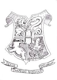 Harry Potter Hogwarts Coloring Pages Hicoloringpages Line Work
