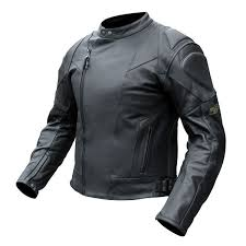 rjays sport ii black leather jacket mens