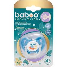 <b>Соска</b>-<b>пустышка</b> латексная <b>Baboo</b> 6+ мес. Коллекция Space 5-218