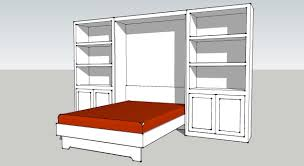 diy murphy bed plan