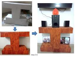 Creative Low Cost and Reused Cardboard Furniture for Home Decor