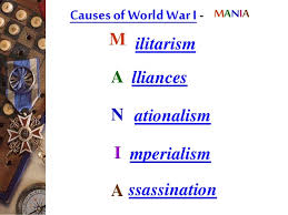 world war causes and effects causes