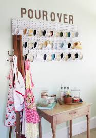 Pegboard Kitchen 17 Diy Pegboards To Organize Every Room Brit Co