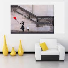 Living Room Wall Art Aliexpresscom Buy There Is Always Hope Banksy Street Art