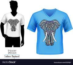 Elephant Shirt Design Indian Elephant Doodle T Shirt Design Banner