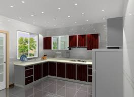 Red And Grey Kitchen Designs Grey Kitchen Cabinets What Colour Walls Amazing Red Glass Shade