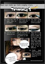 basic male eye make up tutorial 01 by ii00 on deviantart