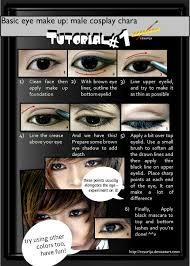 basic male eye make up tutorial 01 by ii00 on deviantart