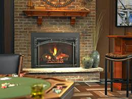 propane gas fireplace insert with er cost canada