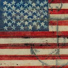 image is loading canvas 039 americana flag and anchor 039 gallery  on americana canvas wall art with canvas americana flag and anchor gallery wrapped art wall decor ebay