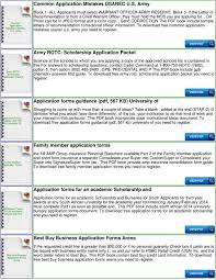 Application Forms For The Sa Army Pdf