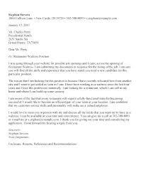 Cover Letter Restaurant Example Cover Letter Sample For Waitress Position Hospitality And Restaurant