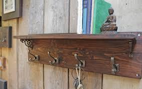 Victorian Coat Rack With Shelf