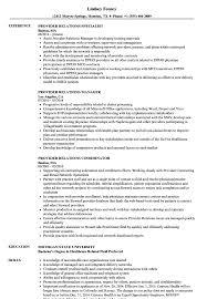Provider Relations Resume Samples Velvet Jobs
