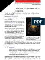 Why CERN is 'Confident' .. GOD Particle   Particle Physics   Physics