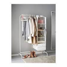 Inroom Designs Coat Hanger And Shoe Rack MULIG Clothes rack white Clothes racks Balconies and Clothes 51