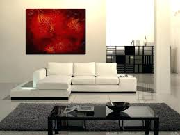 extra large wall decor huge red abstract painting textured wall art original passionate huge red abstract