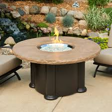 round fire pit coffee table