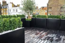 Small Picture Roof Terrace Design Roof terrace planters Outdoor Planters