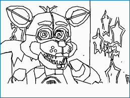 Fnaf Sister Location Coloring Pages Marvelous Fnaf Coloring Pages